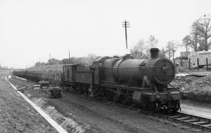 2800 class, 2-8-0, No 2807 at Stanway Cutting April 1957