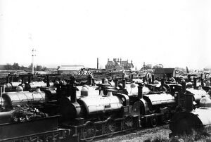 The Broad Gauge dump at Swindon in c1892