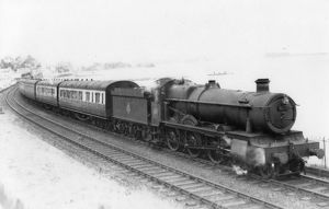 Grange Class Locomotive no. 6875, Hindford Grange