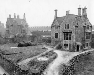 Managers Houses (l-r, Marlow House and Station House) c1910