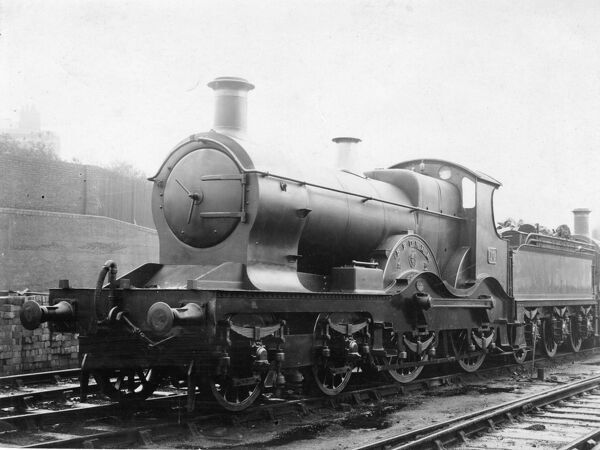 4-4-0 Armstrong class locomotive. Built 1894. Renumbered 4169 and absorbed into Flower class