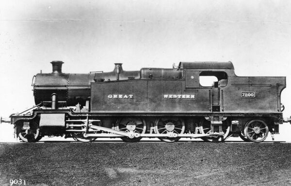 2-8-2 tank locomotive No. 7200