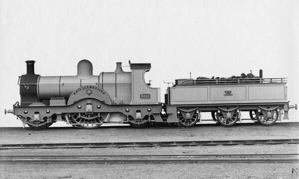 2-2-2 broad gauge convertible. Dean Single or 3031 class. Built 1891. Converted to standard gauge 1892. Rebuilt in 1894 as a 4-2-2 following an accident in Box Tunnel in 1893
