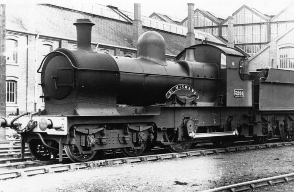 No 3201 St Michael. 4-4-0 Earl class locomotive