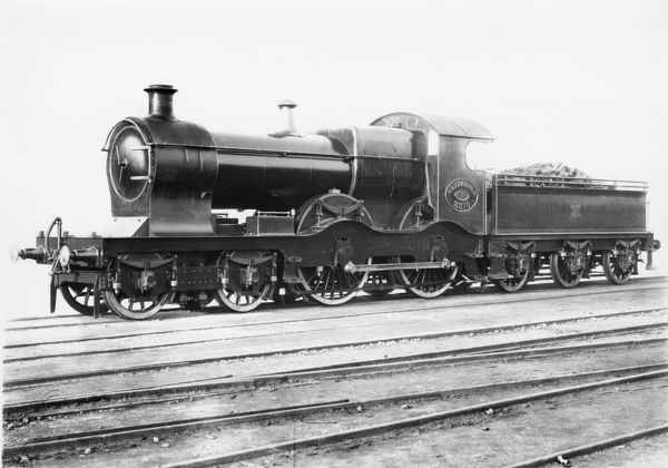 No 3310 Waterford. 4-4-0 Badminton class locomotive. LAter renumbered 4118