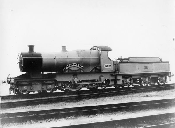 4-4-0 City class locomotive. Built 1903