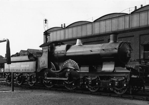 4-4-0 Armstrong class locomotive. Built 1894 and later absorbed into Flower class