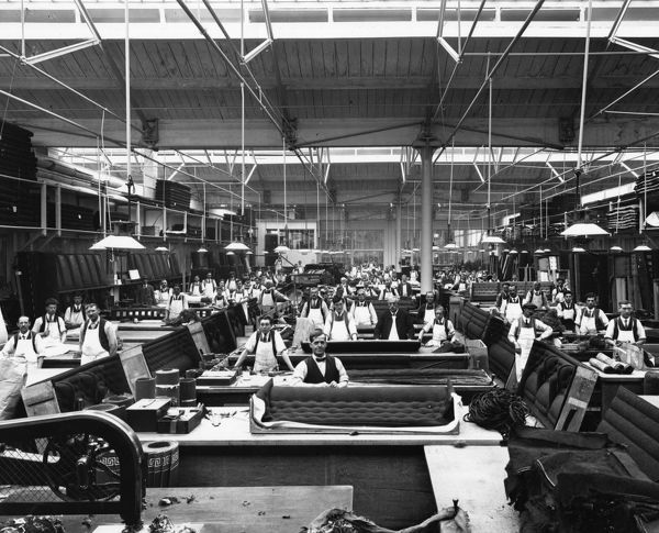 No 9 Carriage Trimming Shop, 1913