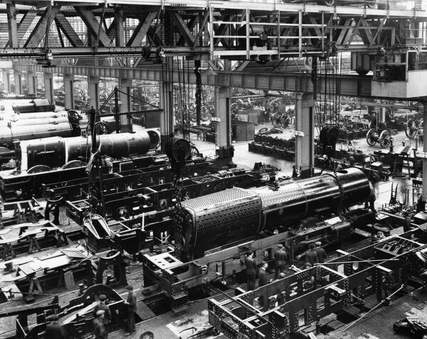 First batch of King class locomotives under construction