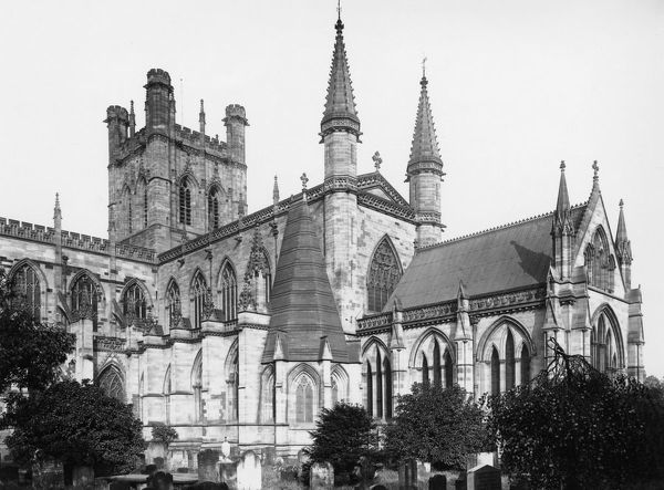 Chester Cathedral, Cheshire, c.1920s