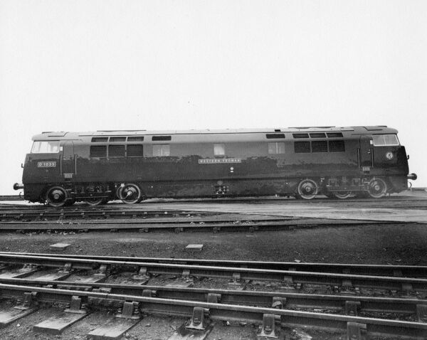 Class 52 locomotive seen here in newly built condition