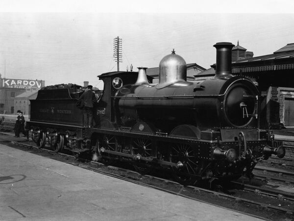 Dean Goods locomotive no 2442 built in 1893