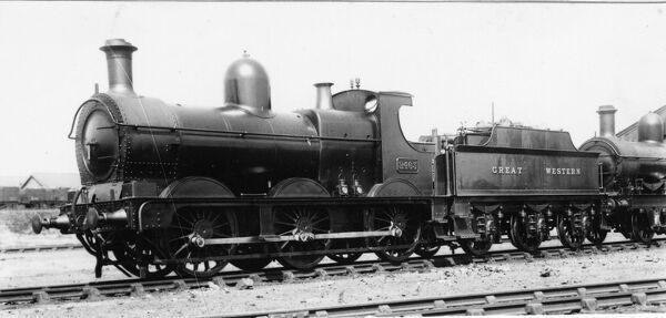 0-6-6 Dean Goods tender locomotive no 2463
