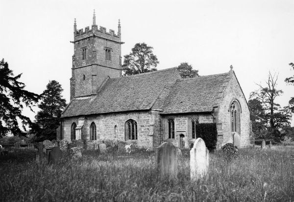 Didbrook Church, Cotswolds, June 1937
