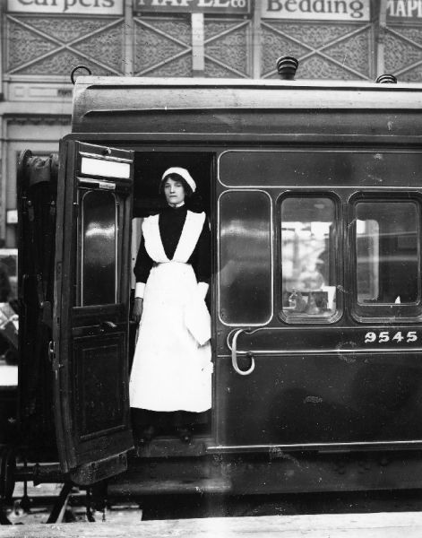 Dining Car Stewardess, 1918