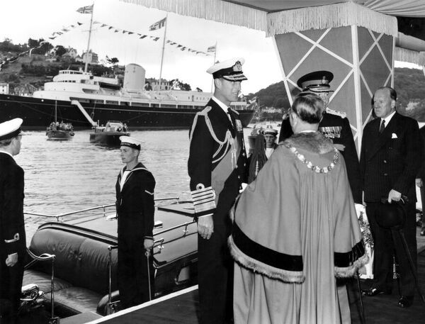 Duke of Edinburgh's Visit to Dartmouth, 28th July 1958