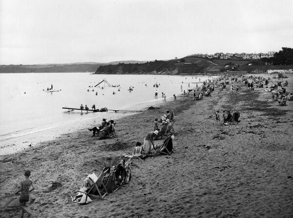 Goodrington Sands, Devon, 1933