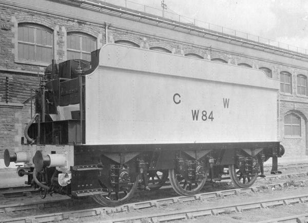 Great Western Tender, No. W84, formerly No. 2641, 1941