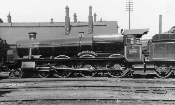 4-6-0 locomotive, built September 1944