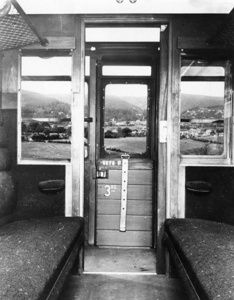 Internal view of compartment. Built in 1928 to diagram E132