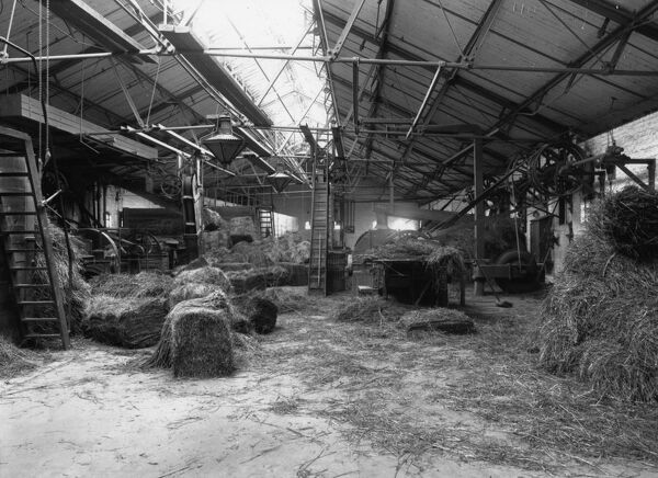 The Provender Store provided feed for all the Great Western Railway's horses