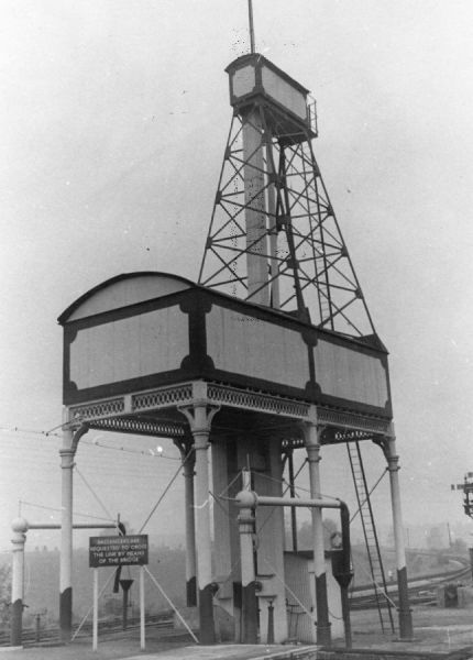 Kemble Station Water Tank