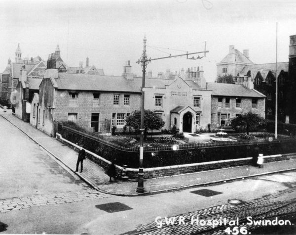The Medical Fund Hospital was established in 1871. The central part of the building was originally the XI Wiltshire Volunteer Rifle Corps armoury. This contained the operating theatre and ward. The extension on both sides housed the nurse's quarter