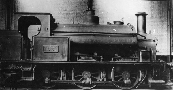 0-6-0 Saddle Tank. Built in 1877 by Fox, Walker and Co, originally for the Whitland and Cargigan Railway. The GWR took the railway over in 1886. Was also given the number 1387