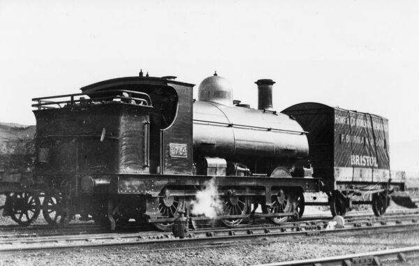 Seen here in the Bristol region prior to having pannier tanks fitted. 0-6-0 2721 class built in 1898