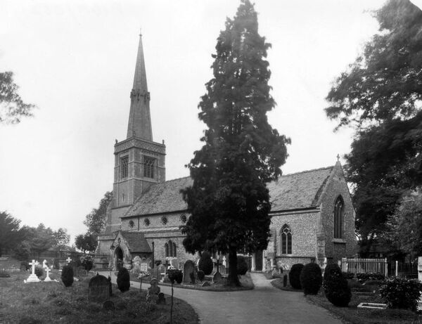 St Mary's Church, Princes Risborough, July 1926