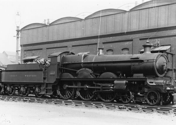 Star Class locomotive No. 4064, Reading Abbey