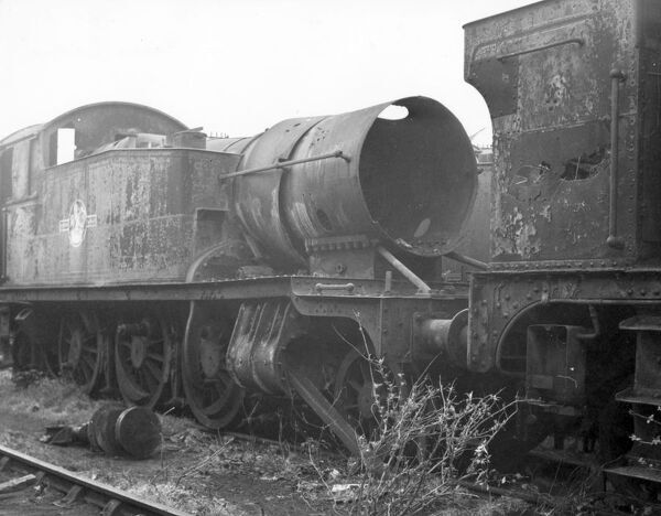 With the rise of diesel and the gradual demise of steam, many steam locomotives were sent for scrap. The most famous scrapyard was at Barry
