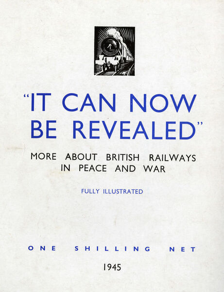 World War 2 booklet 'It Can Now Be Revealed', published 1945