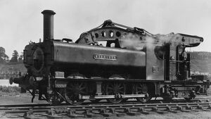 0-6-4 crane tank locomotive, No 18, Steropes