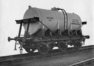 14 ton 3000 Gallon Drinking Water Tank, No. 101