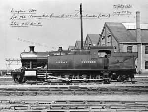 2-8-2 tank locomotive No. 7200, 27th July 1934
