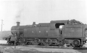 2-8-2 tank locomotive No. 7200 at Newton Abbott