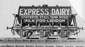 3000 Gallon Milk Tank, No. 2596 for Express Dairy