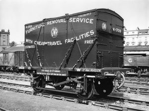 4 ton furniture removal container, c.1935