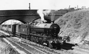47xx class locomotive, No. 4707, at Stoke Gifford, 1960