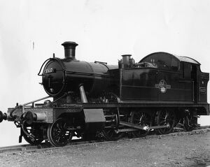 No 5537 Prairie Tank Locomotive