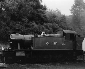 No 5541 Prairie Tank Locomotive