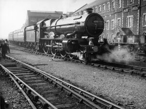 No 6000 King George V outside Swindon Works