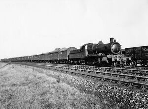 planes trains automobiles/locomotives steam standard gauge locomotives/6340 hauling special train containing cars princes