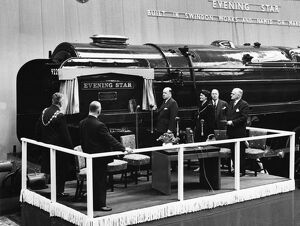 No 92220 Evening Star naming ceremony, 18th March 1960