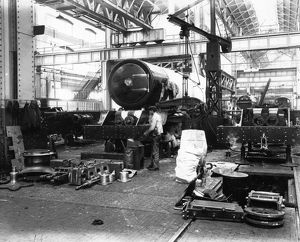 AE Erecting Shop, c1927