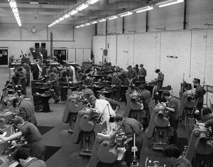 Apprentice Training School, Machine Shop, c1963