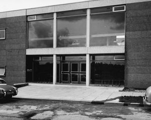 Apprentice Training School Main Entrance, c1960s