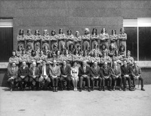 Apprentice Training School, Swindon - 1972 intake