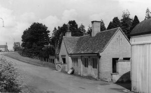 Approach to Stow-on-the-Wold Station, c1950s